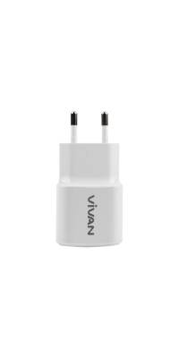 VIVAN Power Oval 2A Output Single USB Charger